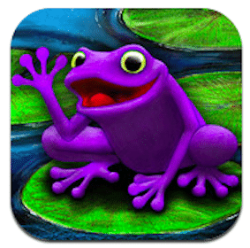 Kids App: The Purple Frog