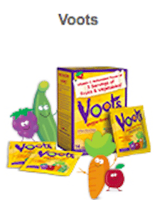 Voots Kids Supplements Sample