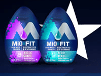 MiO FIT water enhancer sample