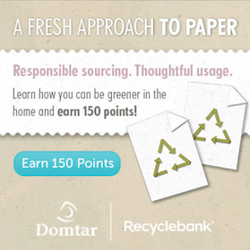 150 More Recyclebank Points