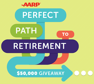 AARP $50,000 Sweeps & Instant Win Game: 61 Win $25 Visa Gift Cards