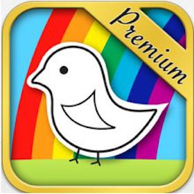 iTunes App: 123 Color HD (Premium Edition, Talking Coloring Book)