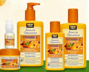 FREE Avalon Organics Vitamin C Renewal Sample