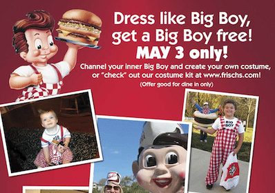 Big Boy Burger at Frisch's Big Boy TODAY
