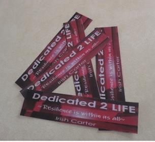 Dedicated 2 Life Bookmark