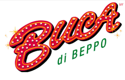 Buca Di Beppo Coupon: $20 Off ANY 2 Buca Small or Buca Large Pastas or Entrees