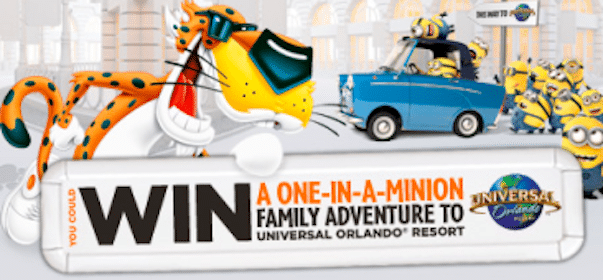 Win Despicable Me 2 Tickets from the Cheetos Sweeps (2,000 Winners!)