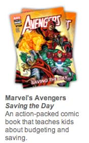 Marvel's Avengers Saving the Day Finance Comic Book