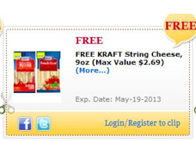 Kraft Miracle Whip Dipping Sauce & Kraft String Cheese Commissary eCoupons (Military Members Only)