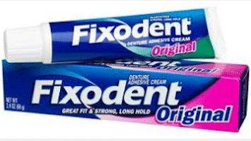 Fixodent Sample + Coupon