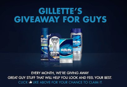 Gillette Mens Products