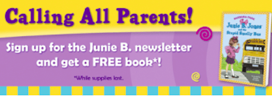 Book, Activity Pages + More when You Join Junie B. Jones Reading Club