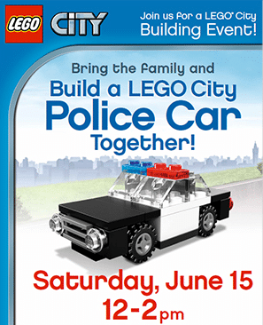 Lego City Police Car at Toys R Us on June 15th