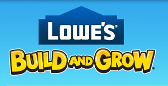 Event: Build and Grow Clinic Sweetheart Frame at Lowes on 5/11