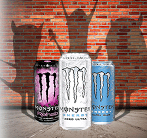 Monster Energy Drink at Hess Express