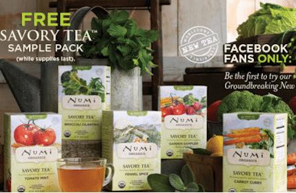 Numi Organic Tea Savory Sample Pack (1st 5,000!)