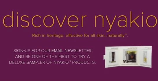 Nyakio Product Sampler