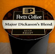 2 Peet's Coffee Single Serve K-Cups