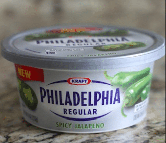 Philadelphia Jalapeño Soft Cream Cheese for Military Commissary Shoppers