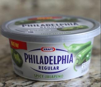 Philadelphia Jalapeño Soft Cream Cheese for Military Commissary Shoppers