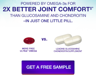 Schiff Move Free Ultra Omega Supplement Sample