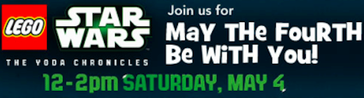 LEGO Star Wars Event at Toys r Us on May 4th
