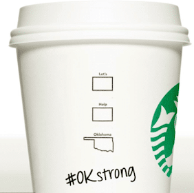 Tall Brewed Coffee at Starbucks w/ Donation to United Way of Central Oklahoma