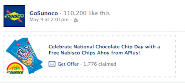 Chips Ahoy at Sunoco on Wednesday (Coupon)