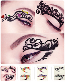 Temporary Eyeliner Tattoo Stickers