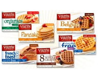 Van's Natural Foods Printable Coupon: Save $2/1