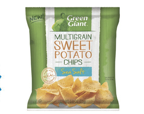 Sample of Green Giant Veggie Chips (1st 10,000 Betty Crocker Members!)