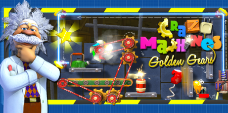 Android App: Crazy Machines Golden Gears HD (Regularly $2.99!)