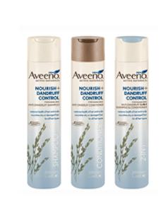 Possible Aveeno Nourish + Dandruff Control