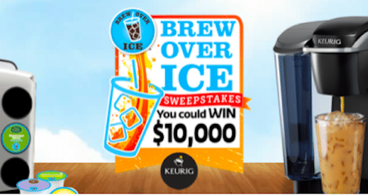 50,000 Win Brew Over Ice Variety K-Cup Sampler Packs + More