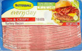 Butterball Turkey Bacon at Walgreens