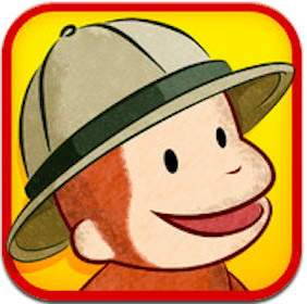 iTunes App: Curious George at the Zoo  (Educational App w/ Videos, Games, + More!)
