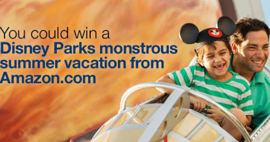 Win a Disney Parks Monstrous Summer Vacation from Amazon.com