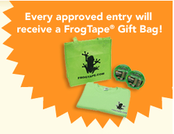 Frog Tape Gift Bag