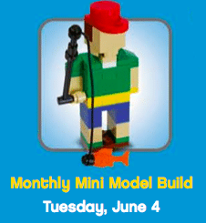 Fisherman Mini Model at the LEGO Store (Tonight Only)