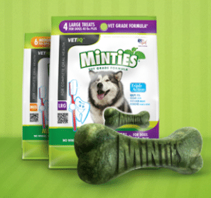 Minties Dental Dog Treats Sample