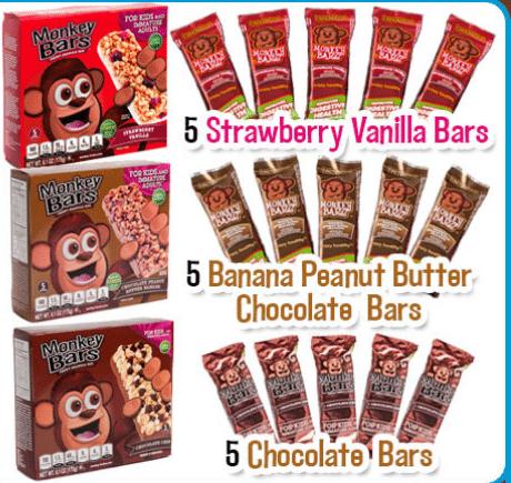 3 Boxes of Monkey Bars