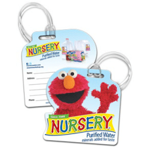FREE Elmo Nursery Bag Tag: LIVE Daily at 12 Noon EST – 1st 100!)