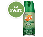 OFF! Deep Woods Dry (1st 3,000!)