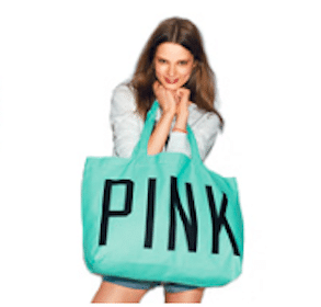 Victoria's Secret Coupon Code: FREE Pink Tote w/Pink Purchase + FREE Shipping