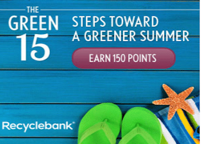 150 RecycleBank Points