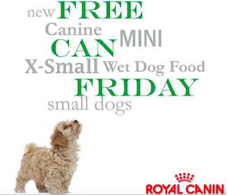 Can of Royal Canin X-Small Wet Dog Food (Coupon)