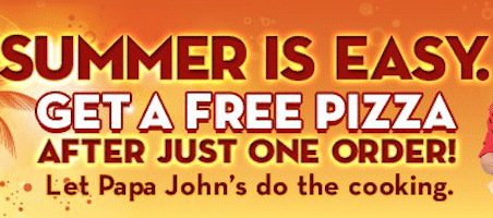 FREE Large 3-Topping Pizza at Papa John's After Making a $15 Purchase