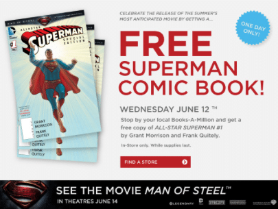 Superman Comic Book at Books-A-Million