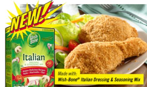 Safeway & Affiliates eCoupon: Wishbone Dry Italian Seasoning (Just for U Members)