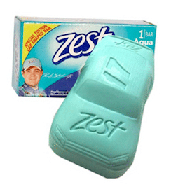 Bar of Zest Soap on September 9th